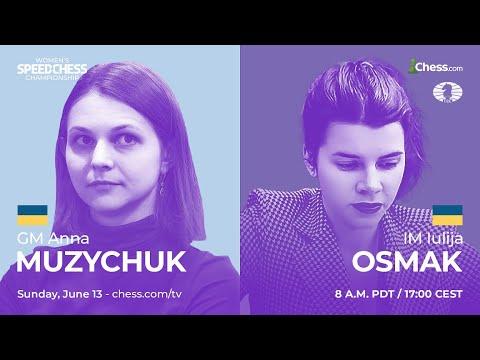 Muzychuk vs Osmak   Women's Speed Chess Championship