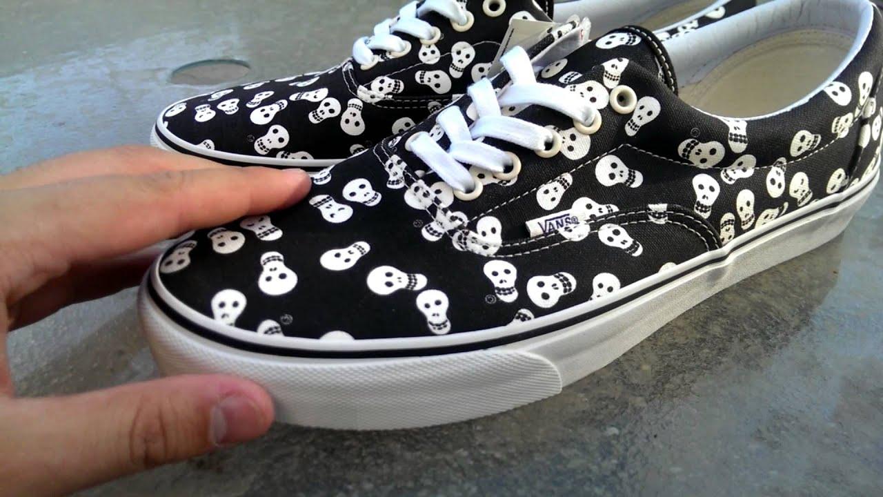57bd2428be97ad Shoe Review  Vans Van Doren  Repeat Skull  Era - YouTube