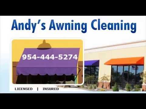 Awning Cleaner 954 444 5274 Miami Fort Lauderdale Broward Boca Raton