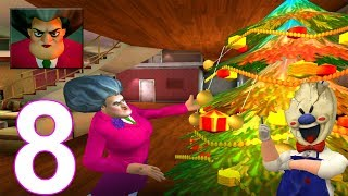 Scary Teacher 3D - New Christmas Chapter - New Christmas Levels - Android/iOS Gameplay [FHD]