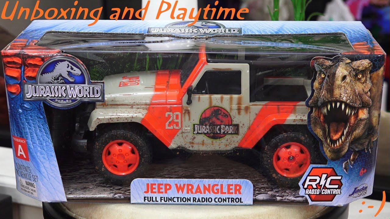 rc cars, trucks and tanks: jurassic world's jeep wrangler jurassic