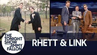 Rhett & Link Include Jimmy in a Special Three-Way Friendship Pose