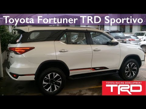 All New Toyota Fortuner TRD Sportivo 2017 Full Review