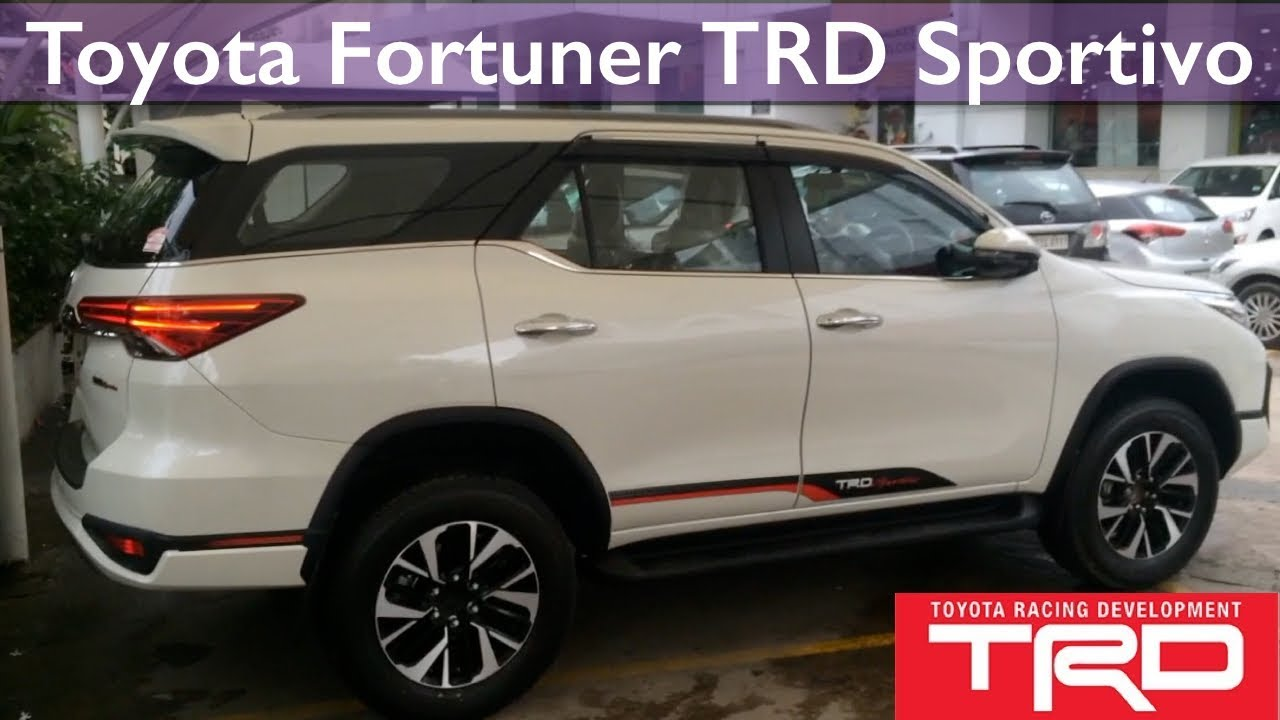 new 2018 toyota fortuner