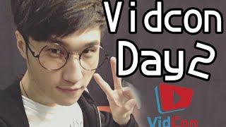 Vidcon2016 Vlog : 我遇到啟發我的Youtuber ➲ Day 2 thumbnail