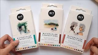 New Prima Watercolor Confections: Unboxing and Swatches