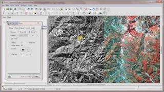 Geomatica Tutorials - RGB Channel mapping and Visualization in Focus