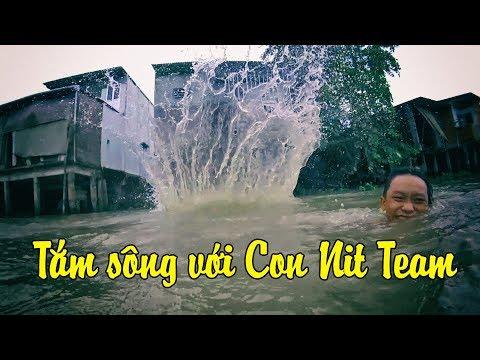Tắm Sông Cùng Con Nit Team - Mạnh Khờ