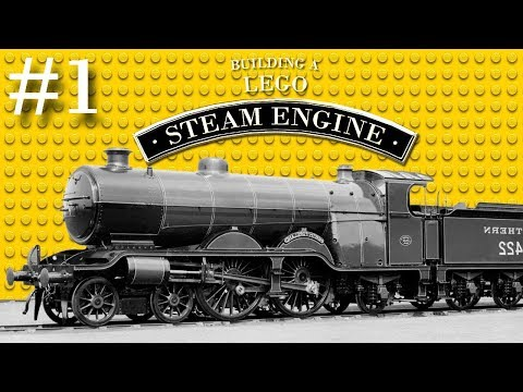 Bluebell Rail-Day - Building A Lego Steam Engine - Part 1