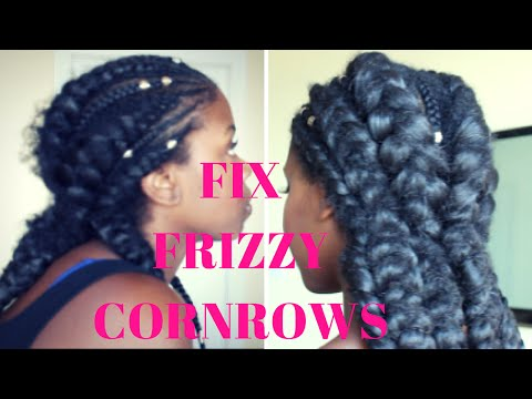 How to REPAIR Frizzy Cornrows