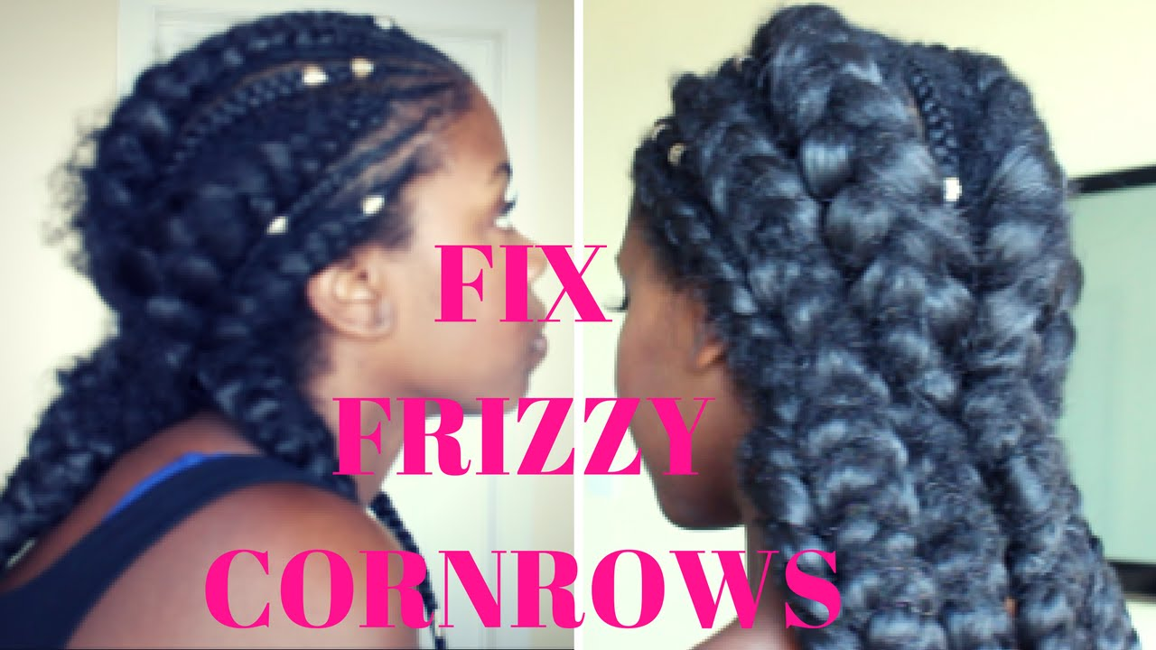 how to stop braids getting frizzy