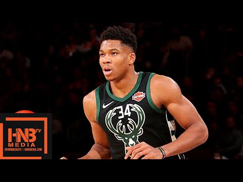 Milwaukee Bucks vs New York Knicks Full Game Highlights | 12.01.2018, NBA Season