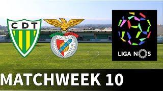 CD Tondela vs Benfica - 2018-19 Liga NOS - PES 2019