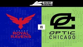 London Royal Ravens vs OpTic Chicago | Stage III Week 1 — London Home Series | Day 2