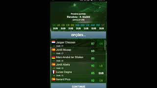True Football 3  BARCELONA X REAL MADRID