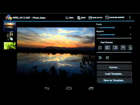 Lightroom vs. Photo Mate - Desktop vs. Tablet