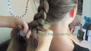 Inverted French Braid Tutorial