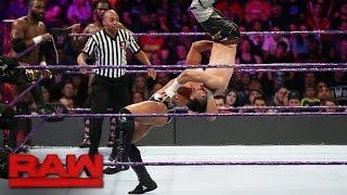 TJ Perkins, Rich Swann & Cedric Alexander vs. Brian Kendrick, Tony Nese & Drew Gulak: Raw, 17. Okt.