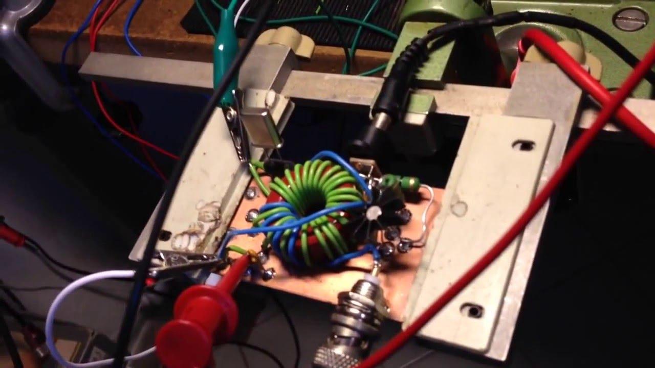 Michigan Mighty Mite 40m QRP - The Joy Of Oscillation