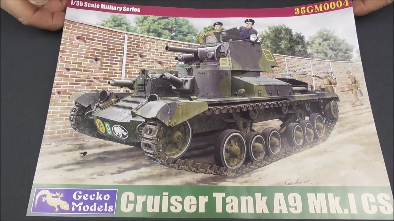 Gecko Models 1//35 35GM0004 British Cruiser Tank A9 Mk.I CS