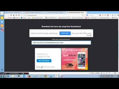 How to download a song music from soundcloud in 3 seconds 2015