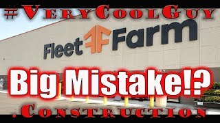 Online Shopping Experience Fleet Farm