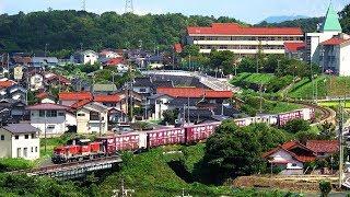 JR貨物 山陰本線迂回貨物列車 運行18日目 (15-Sep-2018)