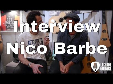 Interview Nico Barbe - Magasin Barbe Guitares & Lutherie (Toulouse)