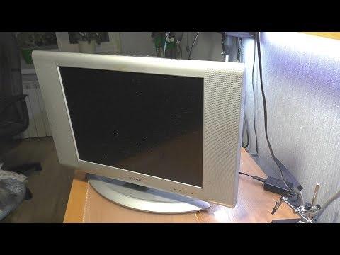 Трещит / Не включается телевизор Sharp LC-20SH2E
