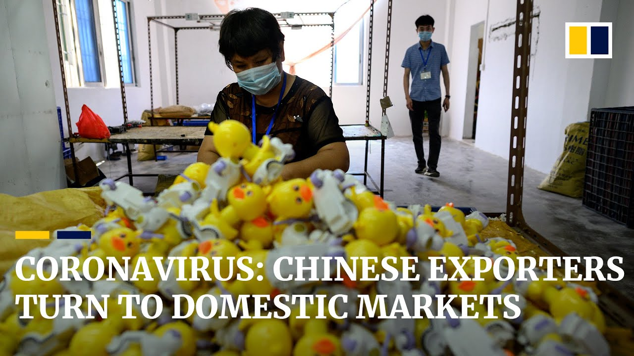 Chinese exporters turn to domestic consumers as coronavirus hits overseas markets