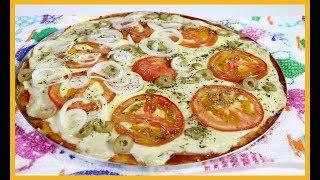 Pizza de Pão francês ou pão amanhecido