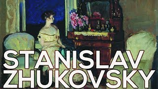 Stanislav Zhukovsky: A collection of 262 paintings (HD)