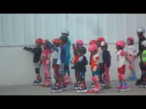 Decathlon Skating training for kids