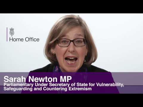 Sarah Newton MP addresses the 2017 ACS Crime Seminar