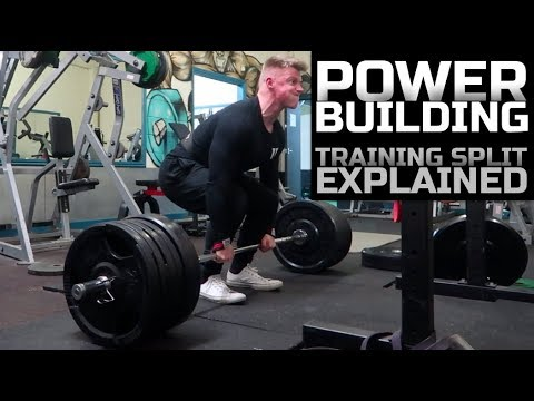My POWER BUILDING Training Split Explained! | 12 Weeks Out