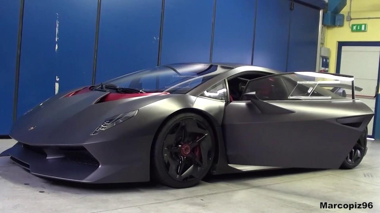 Rare Lamborghini Sesto Elemento Loud Start Up Sound Youtube