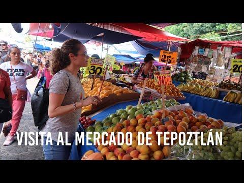 VISITA AL MERCADO DE TEPOZTLÁN / VLOG