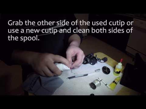 How to clean Abu Garcia Revo Winch Baitcast Reel