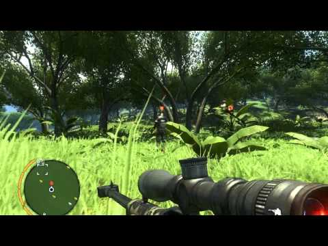 Far Cry 3 - 50 Cal Sniper - Bear + Human hunting [HD]