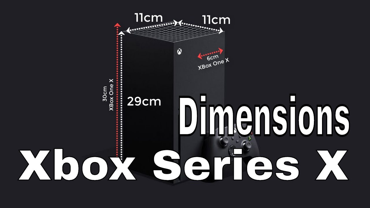 Xbox Series X Dimensions Will It Fit Youtube