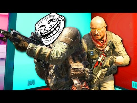 CAMPING WITH CAMPERS on Call of Duty! (Funny Black Ops 2 Trolling)