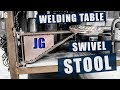 Welding Table Swivel Stool | JIMBO'S GARAGE