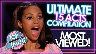 The ULTIMATE Most Viewed Britain's Got Talent & X Factor UK Auditions COMPILATION EVER!