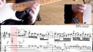 How to play Cliffs of Dover (Eric Johnson) Part 1 - Intro - Otto Reina (Cali - Colombia)