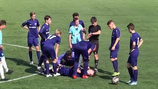 """U-17. """"Гірник-Спорт"""" - """"Лідер"""" (Дніпро) - 0:0. ДЮФЛУ. 03.10.2020. Highlights"""