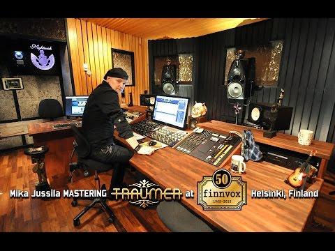 Mika Jussila Mastering TraumeR at Finnvox Studios, Helsinki, Finland