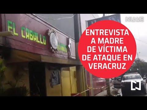 Ataque a bar 'El Caballo Blanco: entrevista con madre de víctima - Noticias Con Karla Iberia