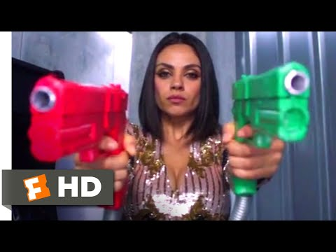 The Spy Who Dumped Me (2018) - Glam Spies Scene (10/10) | Movieclips