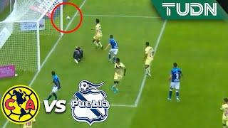 ¡El Ame se salva de milagro! | América 0 - 0 Puebla | Liga Mx - AP 19 - J15 | TUDN