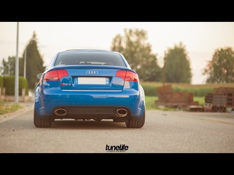 Loudest Audi RS4 engine exhaust sounds in the world. Brutal accelerations and revs